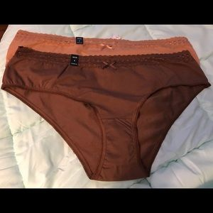 Two pairs Torrid Cotton Hipster Panties NWT 4 4x